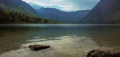 Lago Bohinj e o Triglav National Parl