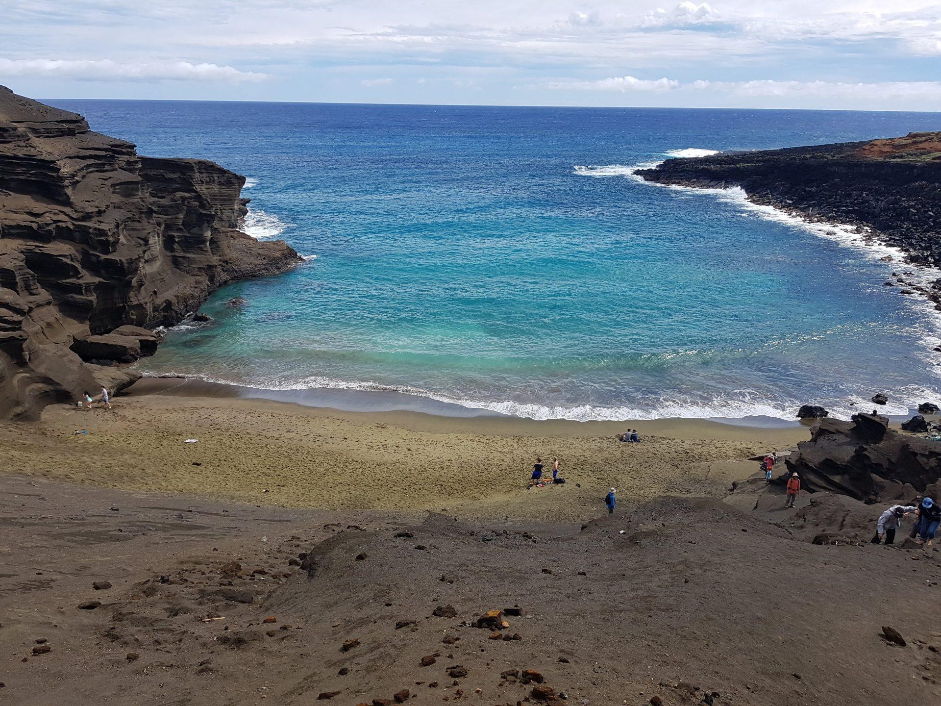 As praias de Big Island