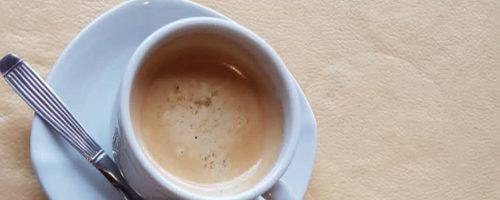As saudades e o sabor de um café