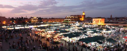 Marraquexe – A vida de Jemaa El Fna