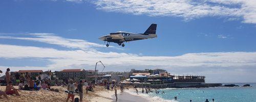 St. Maarten – onde os aviões aterram na praia