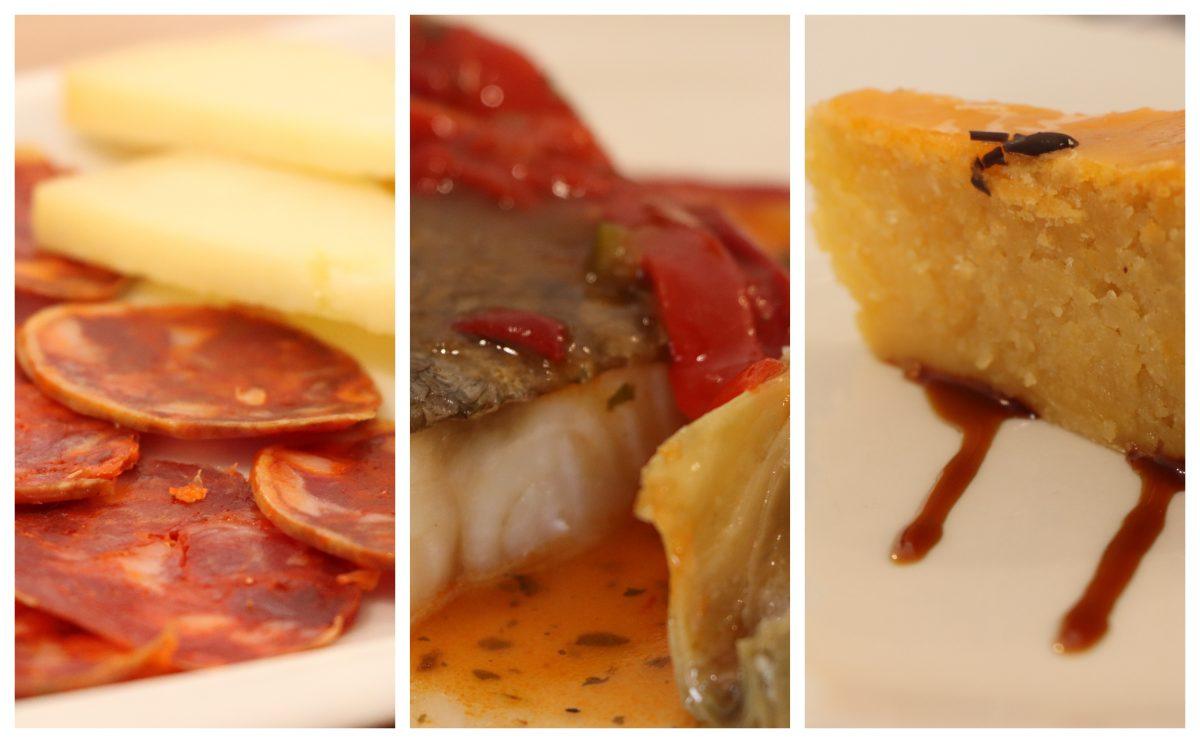 almoço na Casa Malia (Olivenza)