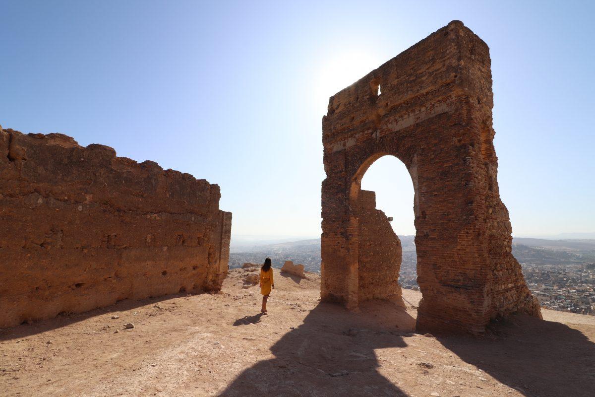 A grandiosidade dos Túmulos Merinídas