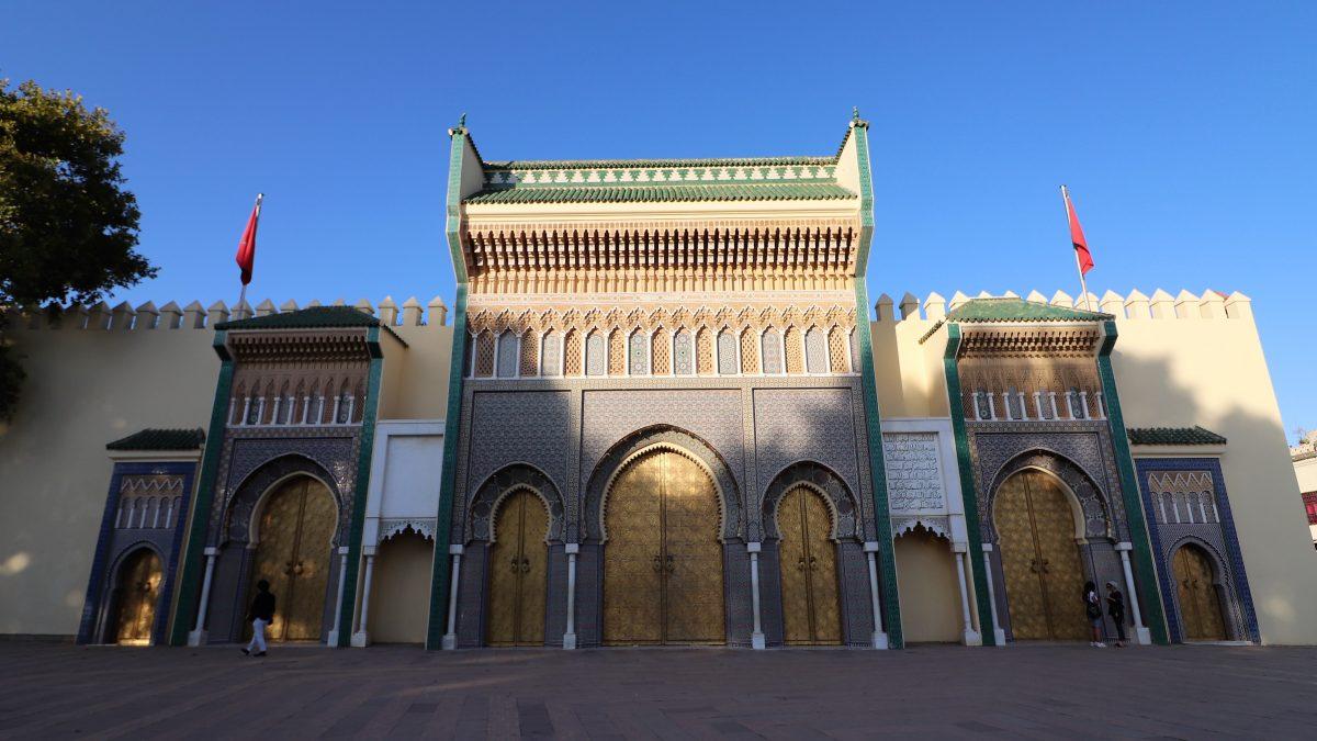 Um dos (muitos) Palácios Reais da coroa marroquina