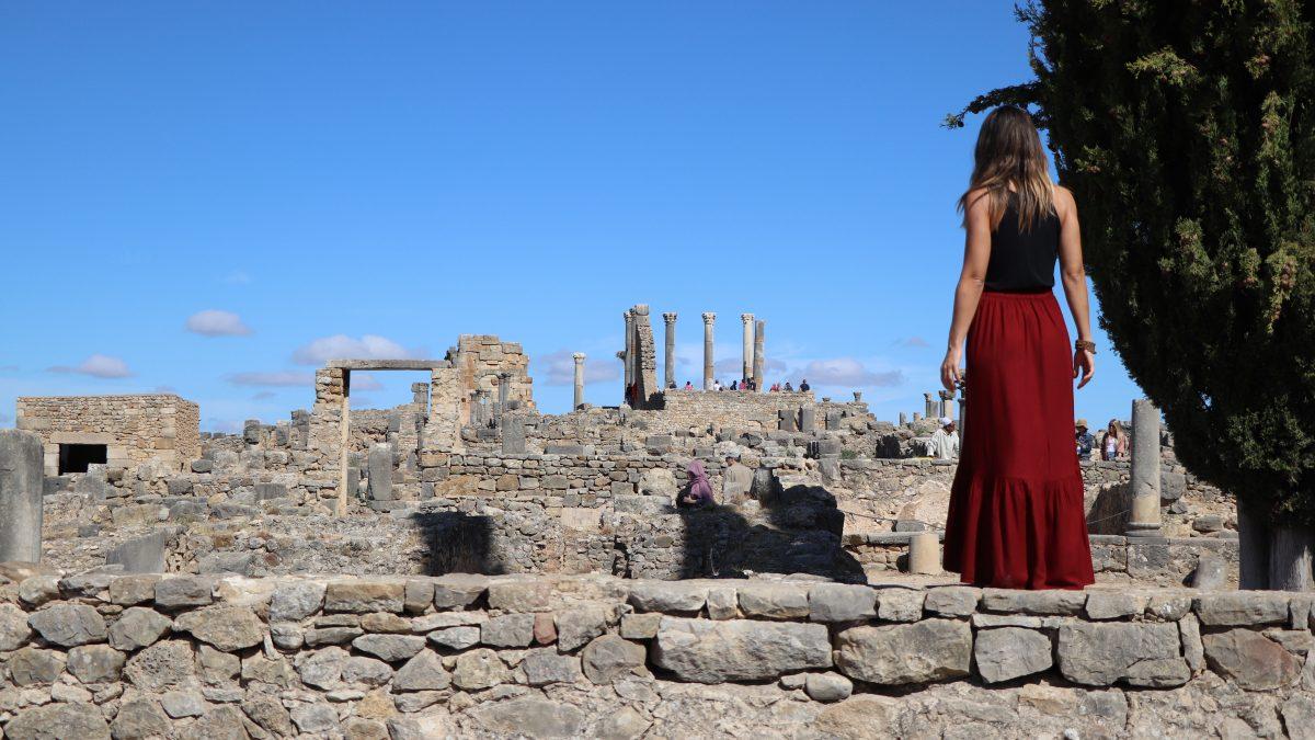 Volubilis um pedaço de Roma em Marrocos