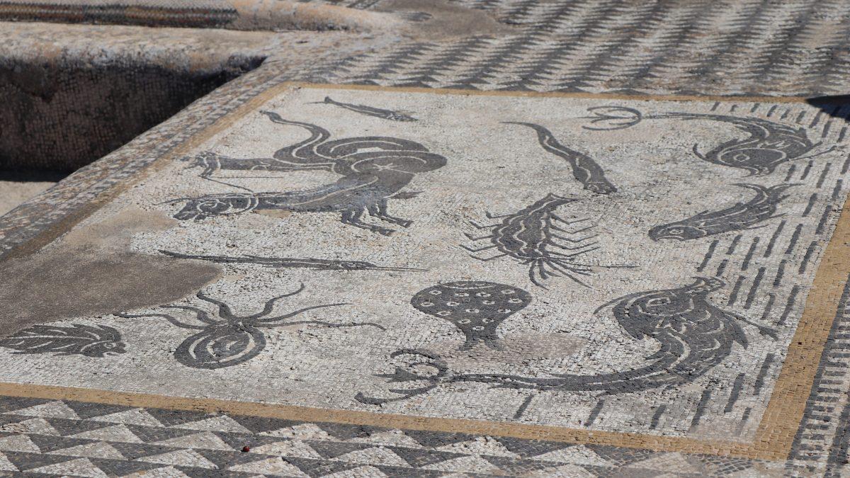 Mosaicos de origem romana