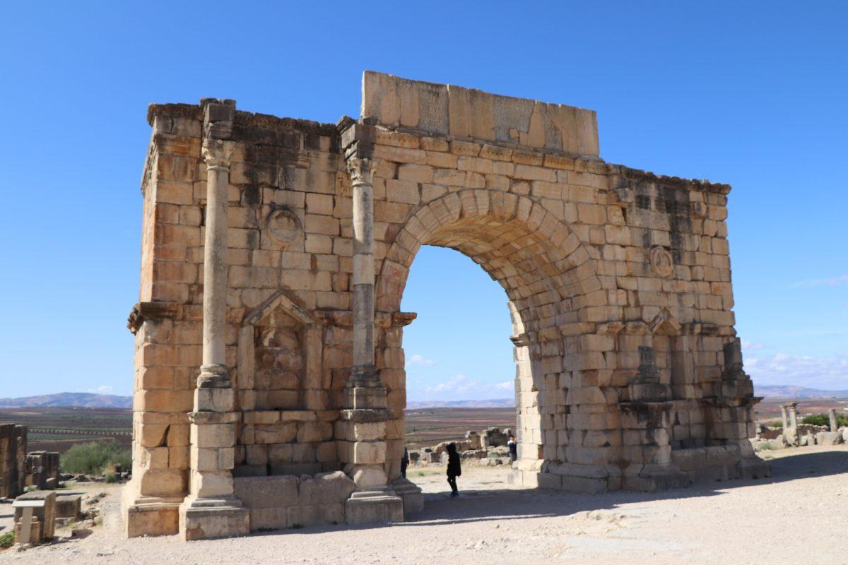 O célebre Arco de Caracala