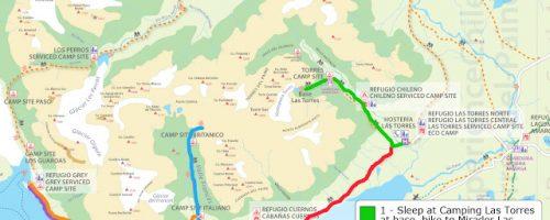 """Como percorrer o """"W"""" do Parque Nacional Torres del Paine"""