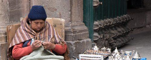Retratos da vida boliviana
