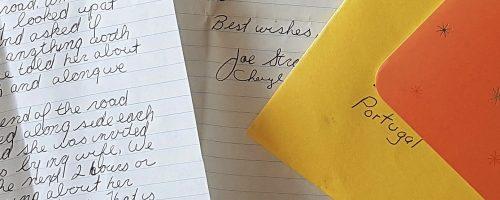 Emails e uma carta