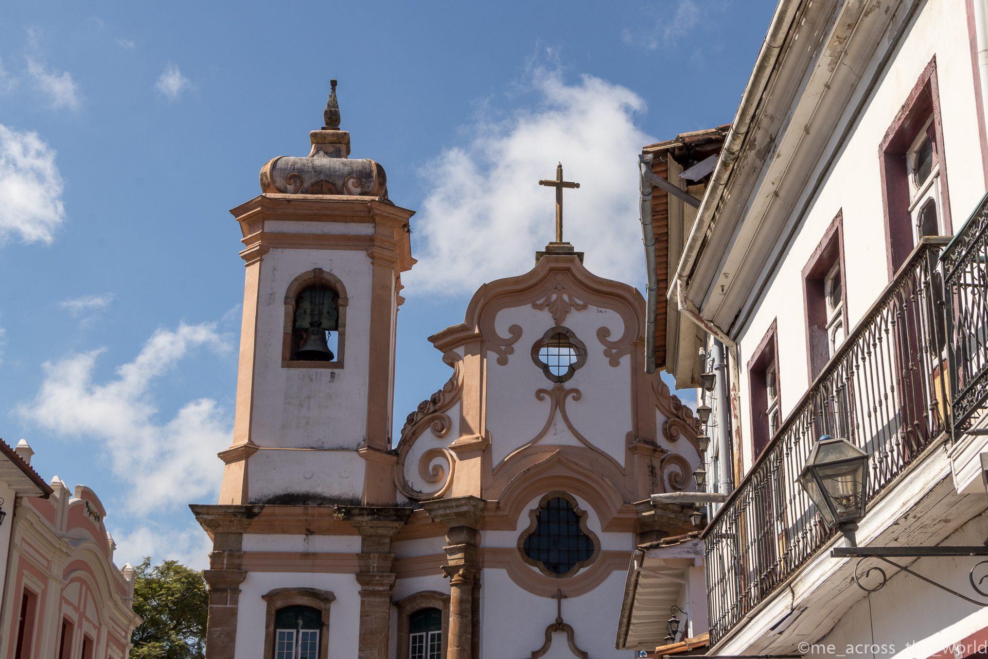 Roteiro pela cidade histórica de Ouro Preto