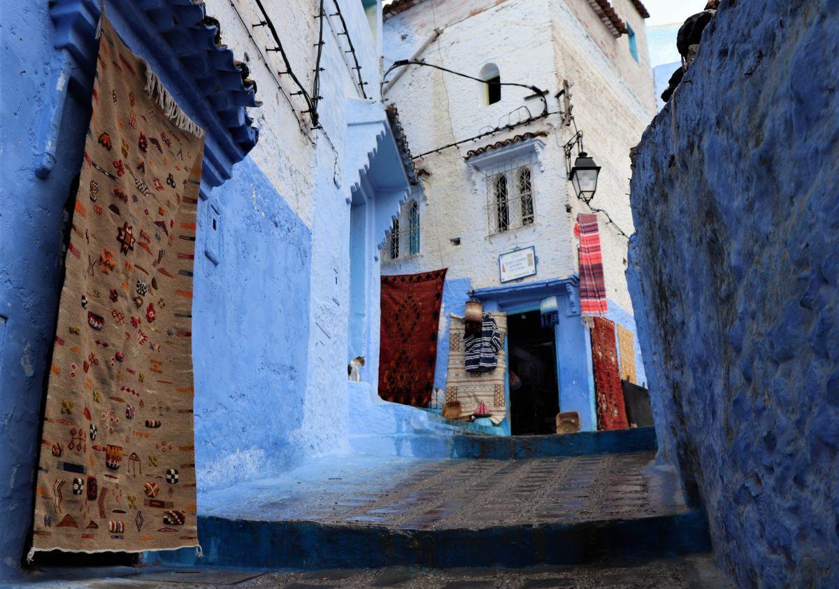 Chefchouen (Marrocos) – 50 tons de azul3