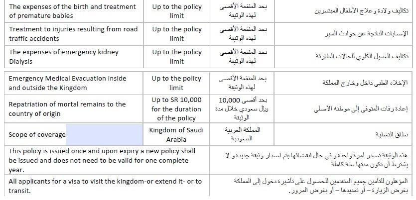 visto para a Arábia Saudita4