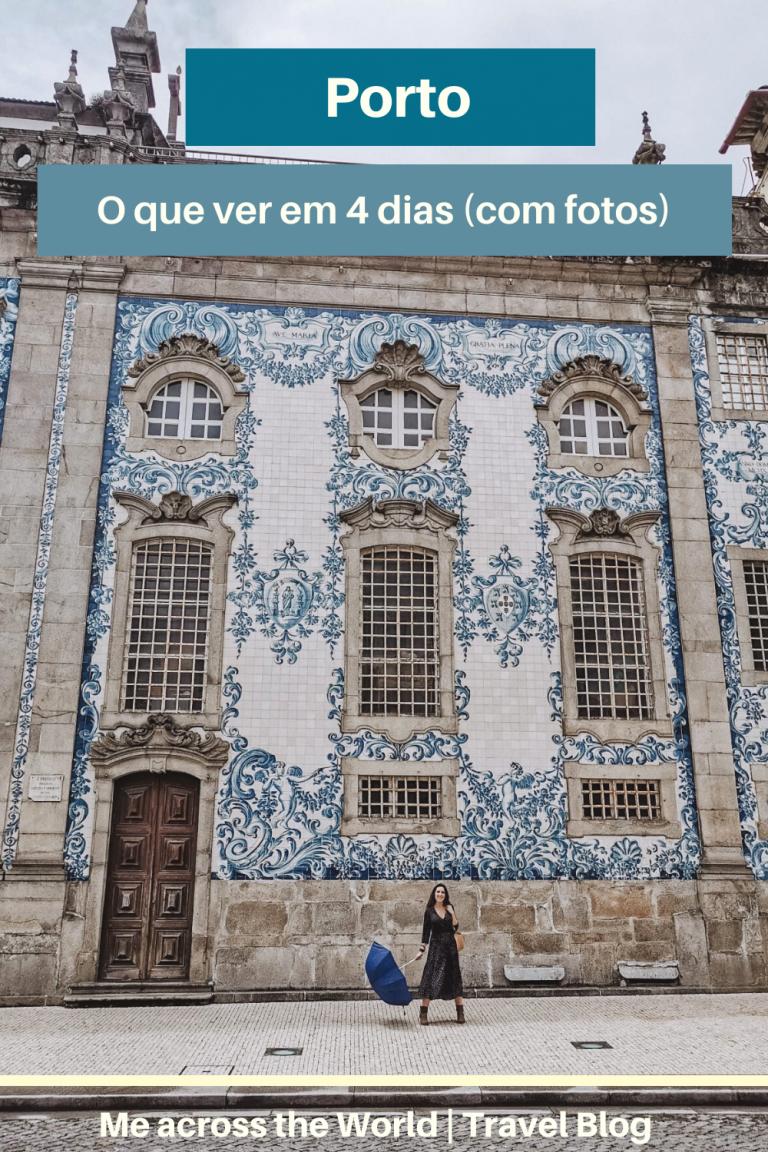 Pinterest - Roteiro de 4 dias Porto