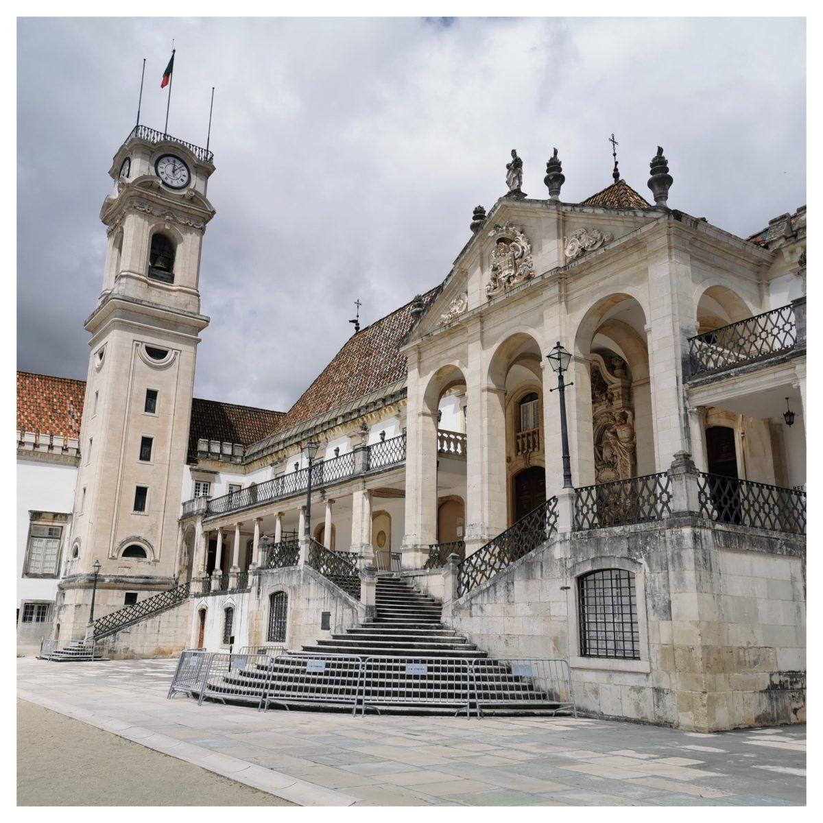 Universidade Coimbra - Roteiro Coimbra