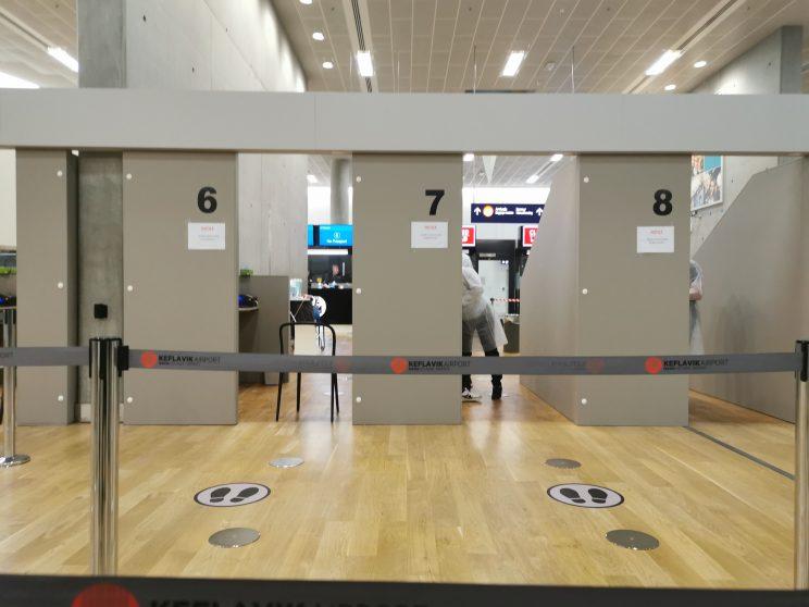 procedimentos de entrada - Viajar Islândia