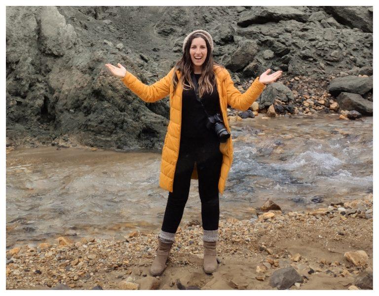 roupas térmicas - mochila Islândia