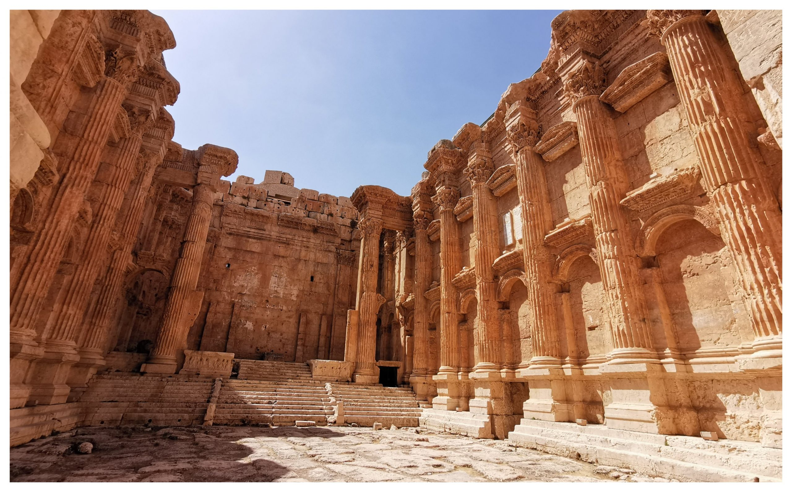 Templo de Baco, Baalbek